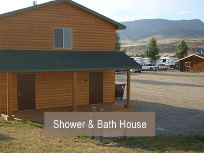 Green Creek Inn RV Park Bath House