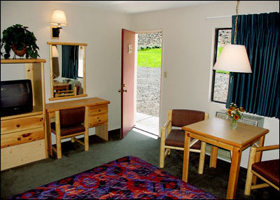 Relax in a clean motel room at Green Creek Inn